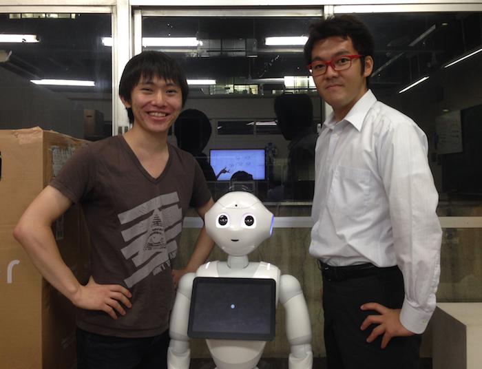 左側が安野さん、右側が金子さんです。