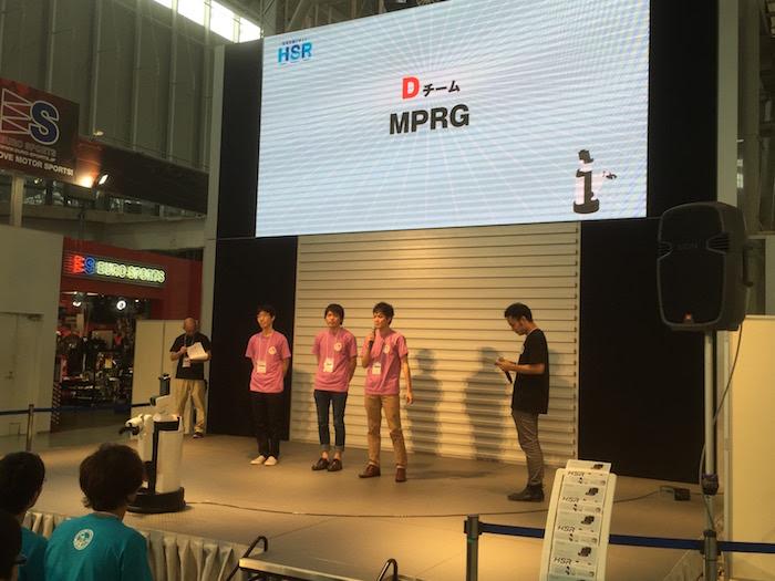 Dチーム:MPRG