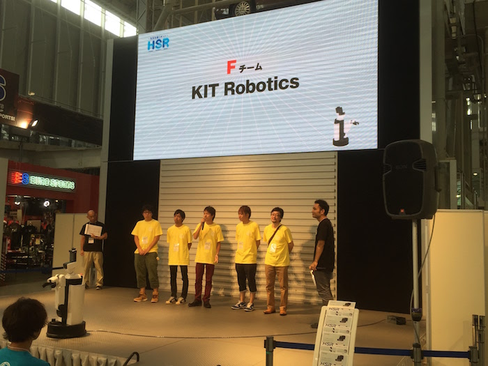 Fチーム:KIT Robotics