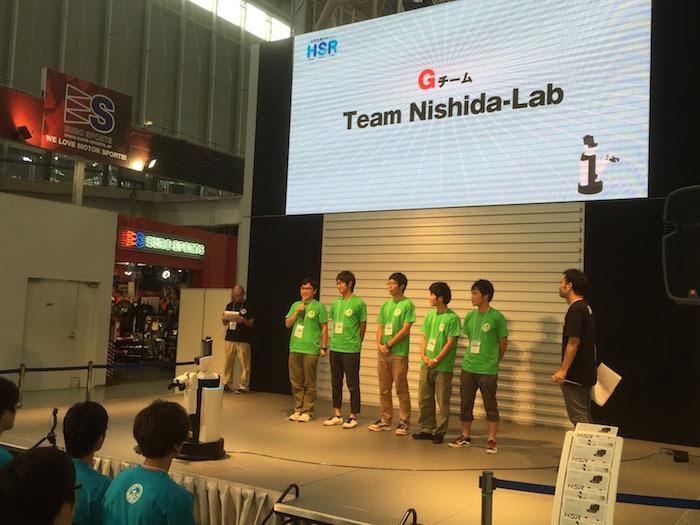 Gチーム:Team Nishida-Lab