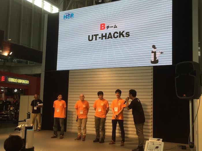 Bチーム:UT-HACKs