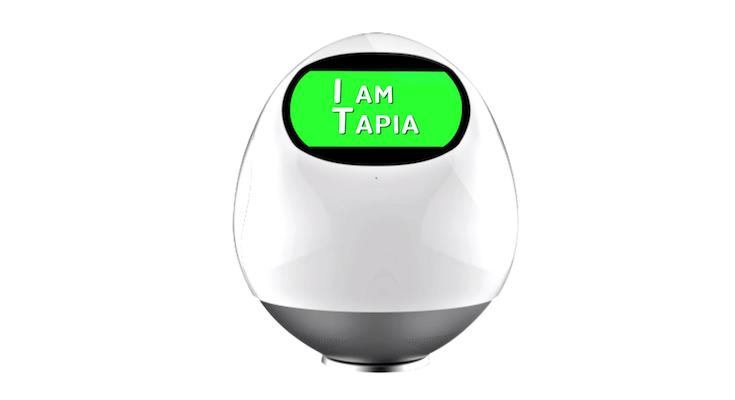 家族のみまもり係ロボット、MJI type01の正式名称は「Tapia(タピア)」に決定!