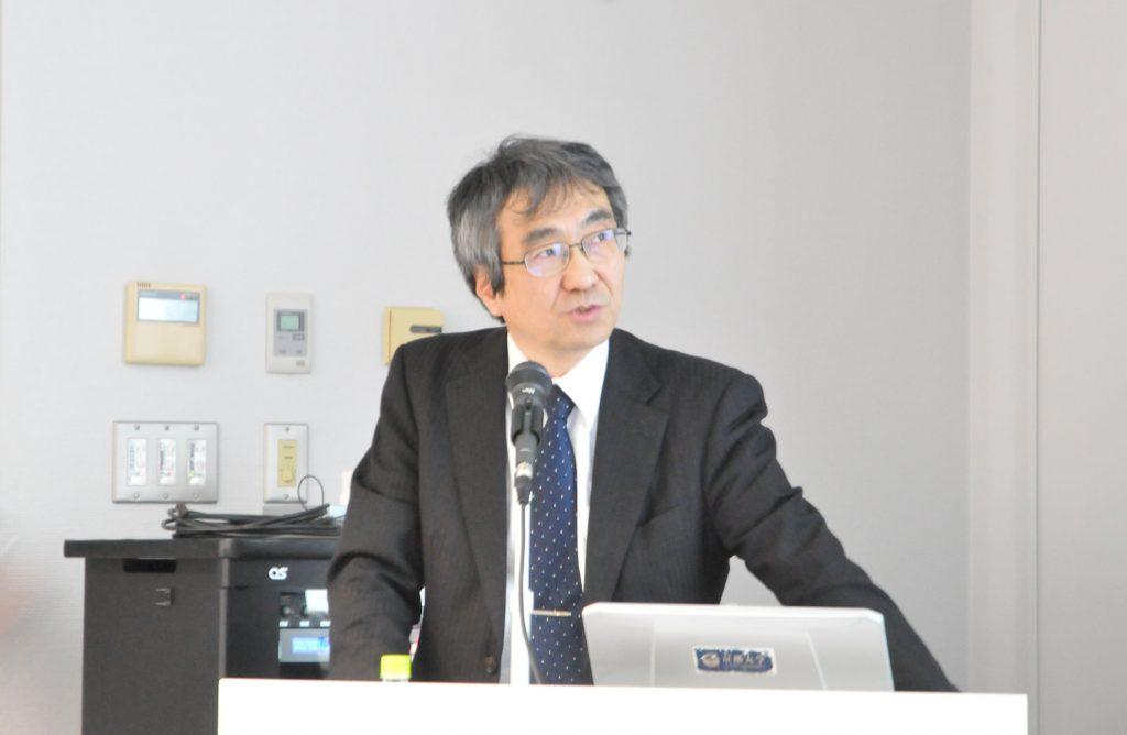 京都大学松野文俊教授