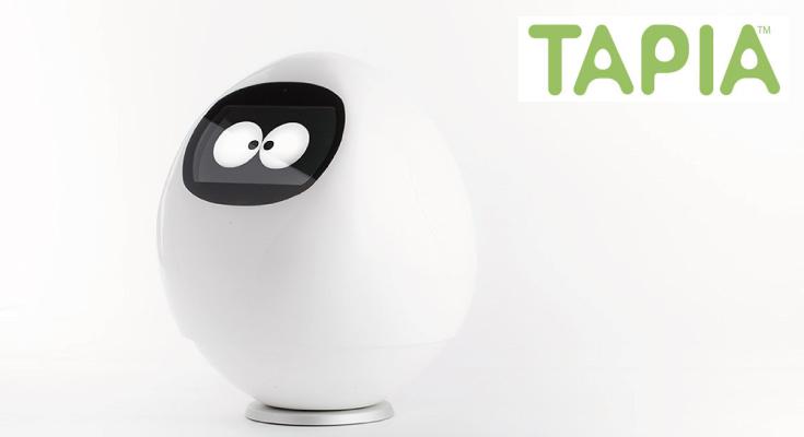 【DMM.make ROBOTS】注目の感情認識ロボット「Tapia(タピア)」の予約は明日から!価格は98,000円