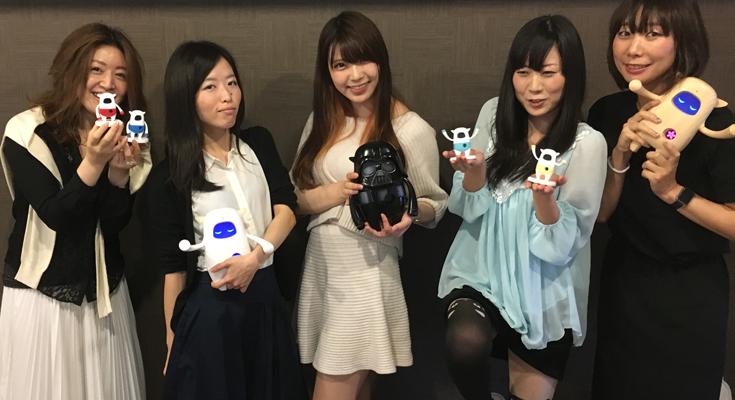 【里見のロボットと遊ぼうvol.1】ロボット女子たちがMusioに英語を教えてもらいながら癒されてきた