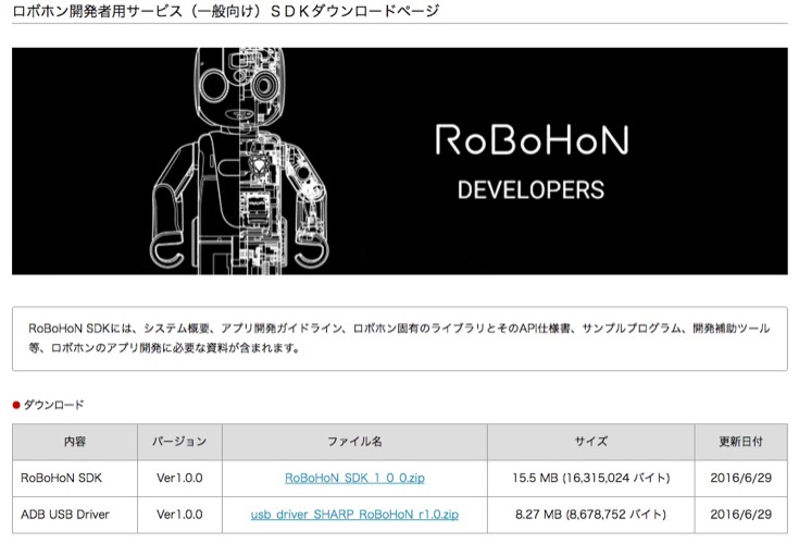 robohon_sdk-release01