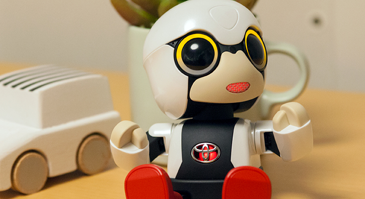 トヨタの会話ロボット「KIROBO m...