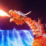 おすすめイルミネーションは「光のドラゴンロボット」 人気ランキング1位を獲得したハウステンボス史上最高傑作「光の王国」