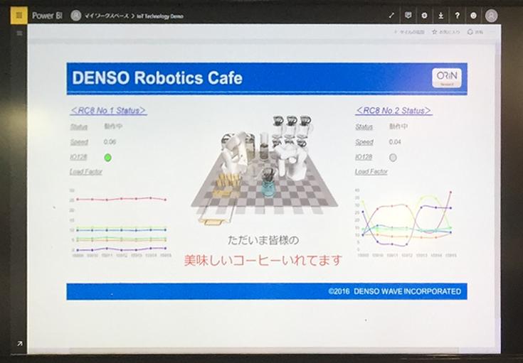ロボットの稼働データのビジュアライズ