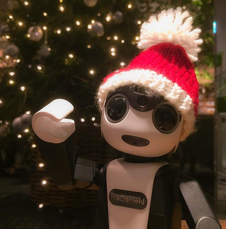 クリスマスロボホン01