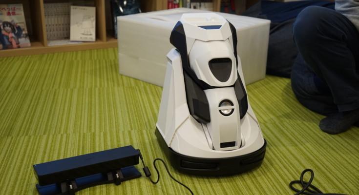 Cerevo開発のプロジェクター搭載の可変型ホームロボット「Tipron(ティプロン)」を動かしてみました!