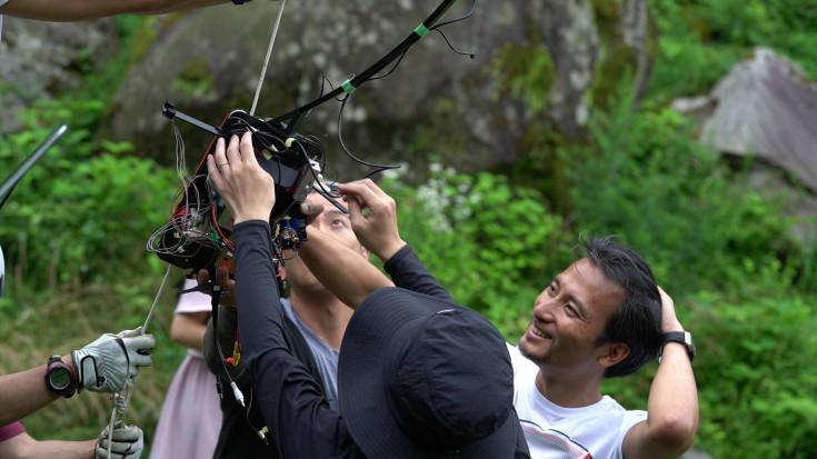 全天球カメラロボットの調整に大苦戦
