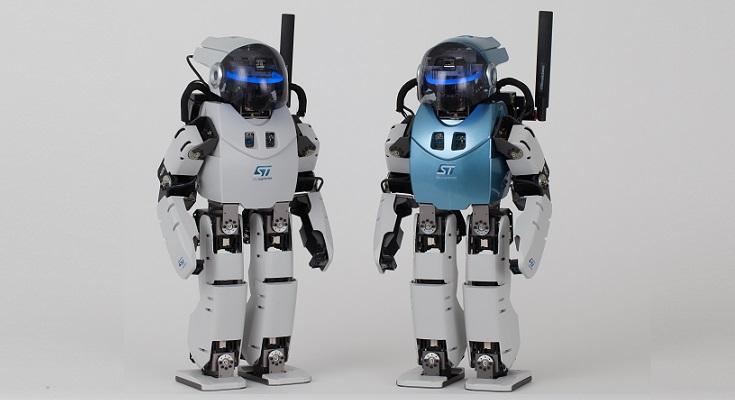 ET2017にてヒト型ロボットが展示...