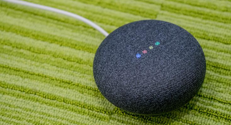 google home mini 廃止された上部タッチの代わりに サイドを長押し