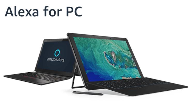 WindowsマシンにAlexa搭載の時代へ「Alexa for PC」公式サイト