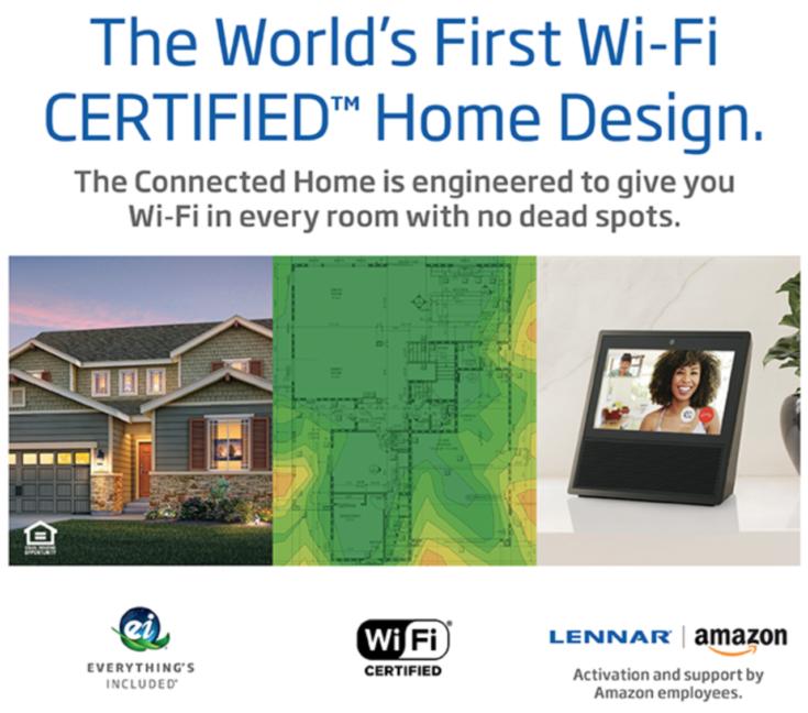 Lennar Wi Fi Home Design
