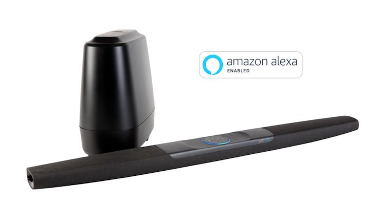 米国 alexa搭載のサウンドバー polk audio command sound bar 予約