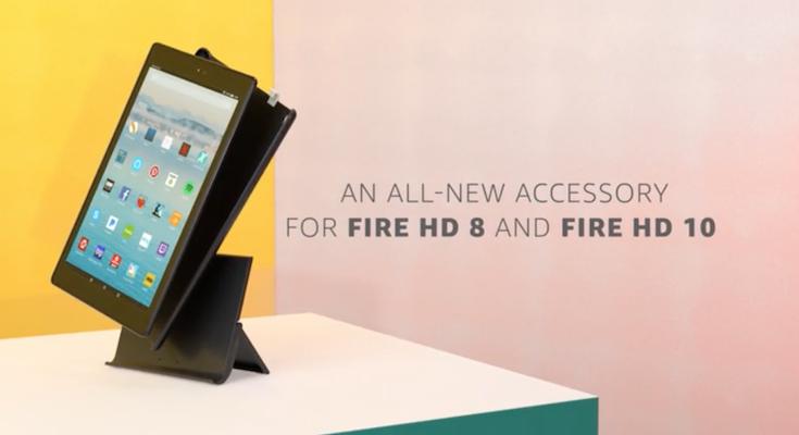 amazon fireタブレット向け show mode 対応の純正充電ドック show