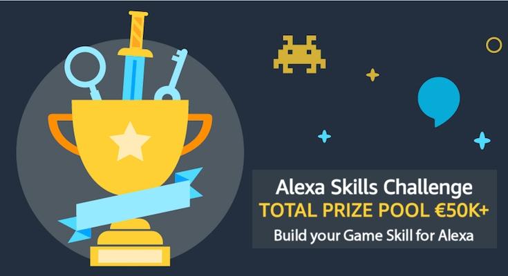 英・独でAlexaの「ゲームスキルコンテスト」が開催 賞金は650万円 ...