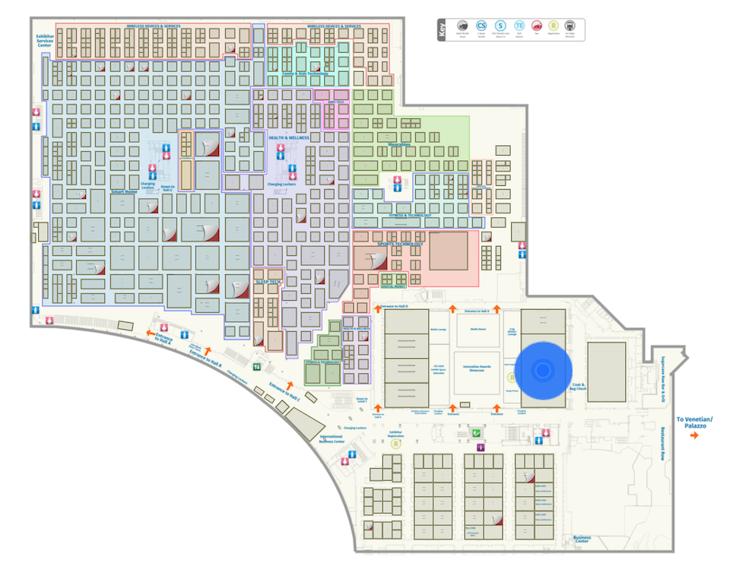 Ces 2019でのamazon Alexa 展示スペースが巨大です ロボスタ
