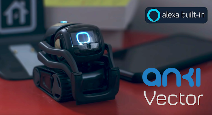 米Anki社COZMOの進化版「Vector」がAmazon Alexaにも対応