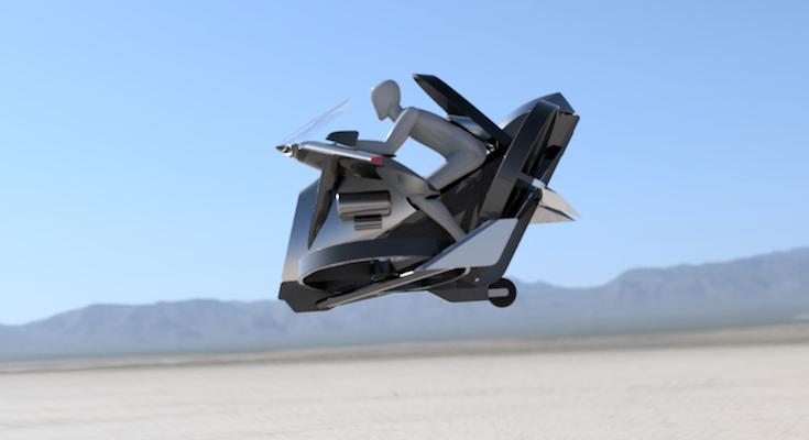 飛ぶ 車 空