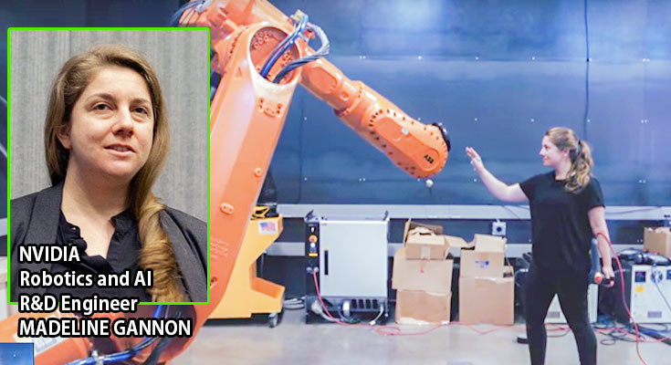 産業用ロボットがまるで生き物のように動きだす NVIDIA「ロボット調教 ...