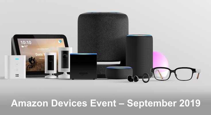 【Amazon Devices Eventまとめ】新しいEchoデバイス全17機種、Alexaの新機能21をすべて紹介!