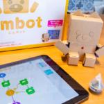ダンボールロボットキット「embot」とIoTセンサーが連携 気温が高くなったらロボットがお知らせするプログラミングを体験