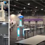 香港国際空港や中国100カ所の病院などで稼働中の自動除菌ロボット「ISR」日本でも展開 UV-C紫外線照射と消毒剤噴霧のハイブリッド