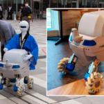 さわやか信金のハッピを着た搬送用自律移動ロボット「Mighty」を見てきた Piezo Sonicが開発