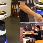 ソフトバンクロボティクスが配膳ロボット「Servi」(サービィ)を公開 デニーズ、とんでん、焼肉きんぐ、コスモポリタン等が導入