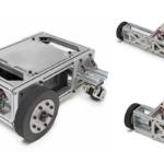 ヴイストン製の研究開発用台車ロボット「メガローバーVer2.1」フルカスタム版発売 筐体の寸法や車輪数などカスタマイズ対応