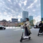 電動キックボード、公道での日本初の走行実証実験を開始 安全性や社会受容性、回遊性など検証 Luup、三菱地所ら
