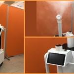 アンドロボティクスのFRUTERAx業務用除菌消臭剤Gミスト  「除菌ロボット」の共同開発を発表