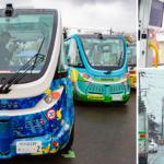 【日本初】自治体が自動運転バスを実用化、境町で一般公道を毎日走る!出発式/体験乗車/インフラ事情を写真と動画でレポート