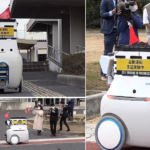 自動運転ロボットが公道で自律配送、市民が体験 遠隔操作やルート最適化も 岡山県玉野市/三菱商事/三菱地所/東京海上日動ら