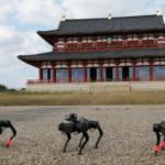 NTTコムウェア 四足歩行ロボットやAI画像解析技術など活用して平城宮跡歴史公園の管理業務をスマート化
