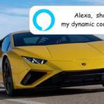 ランボルギーニ・ウラカンEvoがAmazon Alexaを統合し、広範囲な車両制御を音声指示可能に