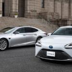 新型レクサス「LS」とトヨタ「MIRAI」の高度運転支援技術「Advanced Drive」を支える技術と製品をデンソーが公開