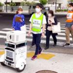 【日本初】自動運転ロボットも信号を守って走行します!ソフトバンクと佐川急便が公道でロボットと信号機の連携実験に成功