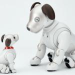 aiboとバイボのツーショット「えっ、バイボって何?」ソニー、オリックス、イリスの3社共催・3Dプリンティングウェビナー開催