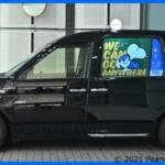 タクシー100台の窓ガラスがサイネージに!TBS×スヌーピー誕生70周年記念コラボ「Canvas」が都内を走行