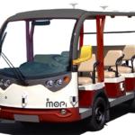 遠隔型自動運転の観光ロボットタクシーを公開 平城宮跡歴史公園スマートチャレンジ社会実験で モピ/マクニカ/アウトソーシング