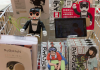 ロボホンが書店で販売員になって「ロボットマンガ」を売ってるよ!